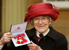 Judith Kerr, one of our very favorite authors…The Tiger Who Came to Tea and Mog the Cat, received an OBE from Queen Elizabeth II for services to children's literature and Holocaust education.