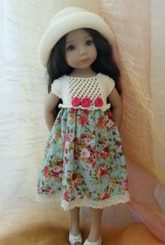 """SUMMER outfit for Dianna Effner Little Darling 13"""" Doll"""