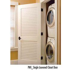 PWI_Single Louvered Closet Door