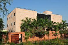 India House, studio and residence of Prof.Benninger, in Pune, Maharashtra.