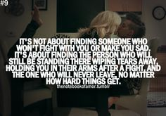 finding someone.