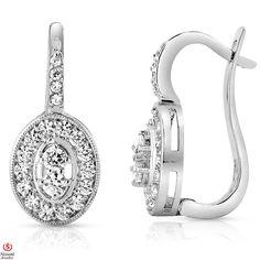 Ebay NissoniJewelry presents - Ladies' 1CT Diamond Earrings 14K White Gold    Model Number:E7986K_W477    http://www.ebay.com/itm/Ladies-1CT-Diamond-Earrings-14K-White-Gold/221630375614