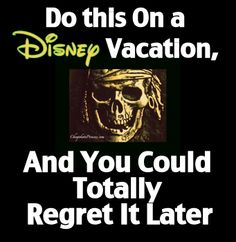 """If you do this on a Disney vacation, you may totally regret it later. Or ... how to avoid completely """"losing it"""" at Disney World. (Planning article)****done"""