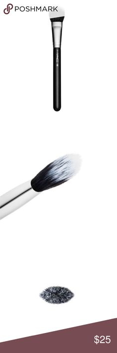 M•A•C 159 Blush Brush New in plastic, never used or opened. MAC 159 Duo Fibre Blush Brush.  A small rounded, double-chiseled, paddle-shaped blush brush for the smooth, refined application of powders and creams to shade, blush and highlight the face. Made from a soft blend of natural and synthetic fibres that work especially well with all Mineralize products. M·A·C professional brushes are hand-sculpted and assembled using the finest quality materials. They feature wood handles and…