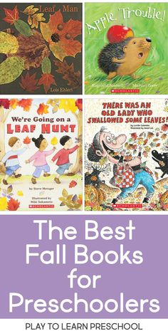 Best Fall Books for Preschoolers This list of books is classroom-tested and preschooler approved! These are the best read-aloud stories for young learners this fall. Preschool Library, Fall Preschool Activities, Preschool Lesson Plans, Preschool Books, Preschool Classroom, Preschool Learning, Book Activities, Montessori Elementary, Read Aloud Books