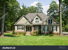 are vinyl shakers shingles with red brick - Google Search