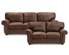 Sofa Groups-Carson Sofa Group-Surround yourself in Italian leather