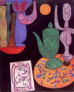 Paul Klee, untitled ,still life -1940 .1 on ArtStack #paul-klee #art