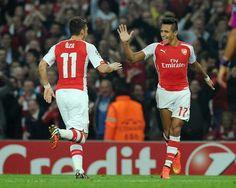 Arsenal - Galatasaray, Champions League, 02/10/2014