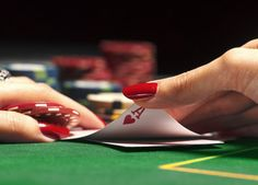 Part of Sam and Dawn's story takes place in a casino in Aruba.  Cards will be played.  Casino Gambling - Yahoo Image Search Results