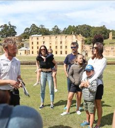 23/12-2017 The Danish royals on a tour of the Port Arthur Historic Site. Picture: SAM
