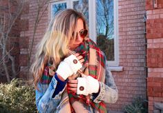 Ivory Fingerless Gloves Knitted Gloves by BeautifullBoundaries