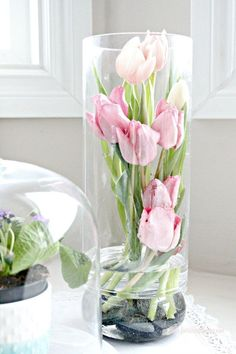 modern tulip arrangements by faeries and fauna