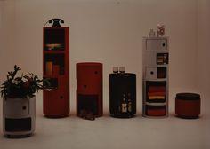 Componibili tondi, Anna Castelli Ferrieri, Kartell, 1969, courtesy Kartell _8/12 I linguaggi degli oggetti e dei designer_6 memoria storica ontogenetica personale