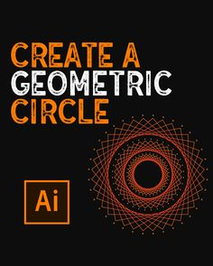This this pin you will learn how to create a Geometric Circle in Illustrator Circle Graphic Design, Graphic Design Lessons, Sports Graphic Design, Graphic Design Tools, Graphic Design Tutorials, Graphic Design Posters, Graphic Design Illustration, Graphic Design Inspiration, Inkscape Tutorials