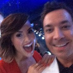 Demi and Jimmy