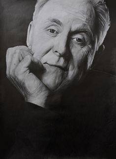 """Name: #JohnLithgow #Actor, #Musician, #Singer, #Author  Features  - Graphite pencils on paper 180g / m² - Signed by the artist Measurements  - 43x 61 cm / 17"""" W x 24"""" H Inch  Video on YouTube↓ https://youtu.be/1BU6x7u5wuI  #Art #Drawing #CreationByKK"""