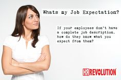Whats my Job Expectation - Make sure you have set your expectations @HRREV our mission it to offer HR Outsourced services for UK businesses. Real people, providing real HR solutions for businesses with real drive""