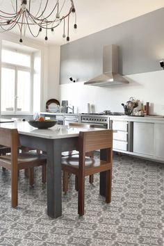 Our most popular in our Deco chic range. the Chester grey pattern tile is trendy and new, yet it will remain timeless due to the colour spectrum of the tile. Wall and floor suitable and imported from Spain, visit our website to view more about this range.  #patterntiles #chestergrey #decobella #kitchendreams #kitchentiles #floortiles