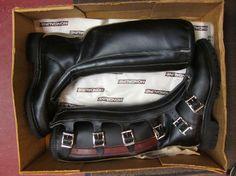 hondaline vintage motocross boots i