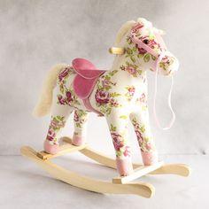 Redcurrent - Redcurrent Vintage Rose Rocking Horse | Redcurrent - online, homewares, gifts for women, Ecoya, New Zealand