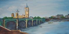 London Calling, 16x32 inches, $175.00