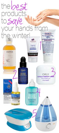 My Favorite Winter Hand Lotions and Products