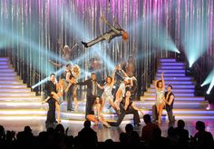 """Dancing With The Stars :          SHOW FINALE :  """"CAN'T TOUCH IT"""" CARSON KRESSLEY,               JOEY FATONE,                   SABRINA RYAN,                            TIA CARRERE,                      DMITRY CHAPLIIN,                 LACEY SCHWIMMER, & OTHERS....."""