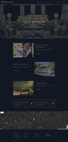 Funeral Service #Joomla #template. #themes #business #responsive #Joomlathemes