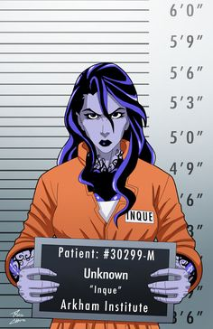 Inque locked up commission by phil-cho on DeviantArt