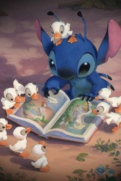 Stitch!!! coolest disney character ever.