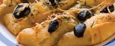 Garlic and Olive Focaccini