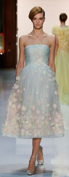 GEORGES HOBEIKA |  COUTURE  SPRING-SUMMER 2014 ~
