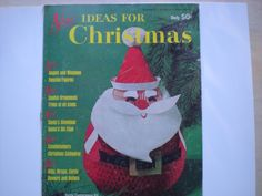 New Ideas for Christmas Magazine 1964 by VintageNona on Etsy, $5.00