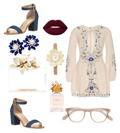 """Easter vibe"" by kohakujae ❤ liked on Polyvore featuring Neiman Marcus, Michael Kors, Garrett Leight and Marc Jacobs"