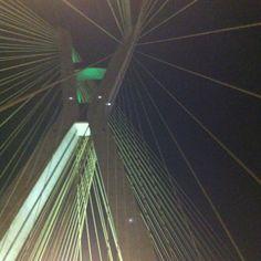 Ponte estaiada São Paulo-Brazil