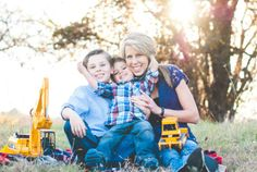 A sweet mother & sons photoshoot!