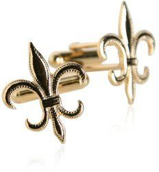 Gold-Tone Fleur De Lis Cufflinks by Cuff-Daddy Cuff-Daddy. $29.99. Arrives in hard-sided, presentation box suitable for gifting.. Proudly MADE IN THE USA. Made by Cuff-Daddy. Save 57%!