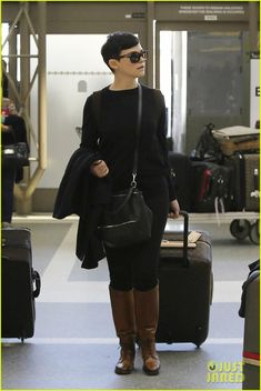 Ginnifer Goodwin & Josh Dallas: LAX Lovebirds! | Ginnifer Goodwin, Josh Dallas Photos | Just Jared