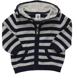 Striped Cardigan baby boy (245 SEK) ❤ liked on Polyvore featuring babies, baby boy and boy