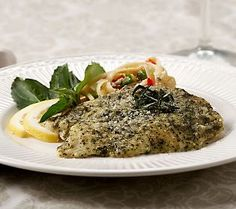 Basil Pesto Tilapia - Need I say more?