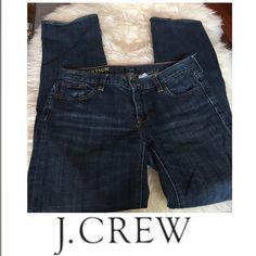 J. Crew Matchstick Skinny Jeans J. Crew Matchstick Skinny Jeans. Rise 7 5/8 inches. Inseam 32 inches. Size 28 which is a 6. Gently worn. Great condition. Feel free to make an offer. J. Crew Jeans Skinny