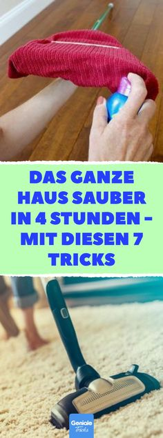 Ganzes Haus sauber in 4 Stunden mit 7 Tricks - Everything You Need To Know About Survival Skills