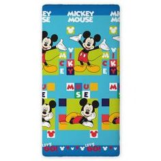 "Drap-housse Mickey Mouse ""Silhouette"" 90x200 cm #draphoussemickey"