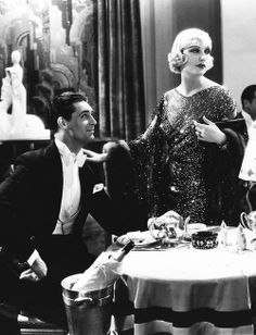 "carysgirl:    jazz-vintage-classicmovies:     Cary Grant and Carole Lombard In Name Only (1939).     Actually, this is from ""Sinners in the Sun"" (1932)"