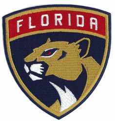 2016 NHL Florida Panthers Team Logo Official Game Jersey Patch