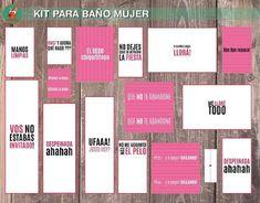Kit Sos Toilette Imprimible Casamiento Evento Baño Sticker - $ 250,00 en Mercado Libre Love Heart, Ideas Para, Party Favors, Bar Chart, Wedding Gifts, Dream Wedding, Decoupage, Frases, Wedding Stuff