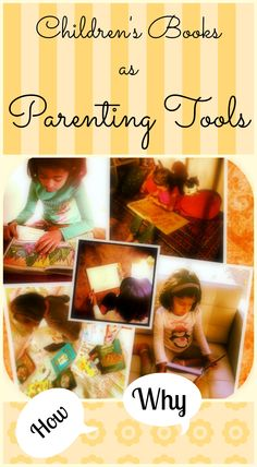 Children's Books As Parenting Tools - ideas, resources, a video and booklists!