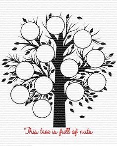Family Tree SVG by JustinasaurCreations on Etsy