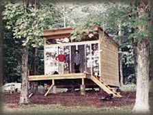 SHELTER-KIT® supplies the material and engineering, you supply the labor. Sold in kit form, our 12' x 12' Unit One ® modular shell is completely weather tight, and is available with an optional Deck or Porch. It's also expandable - you can add any number of modules at any time to build a larger house.